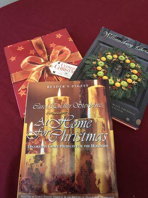 3 Christmas idea books for Sale in Mechanicsburg, PA
