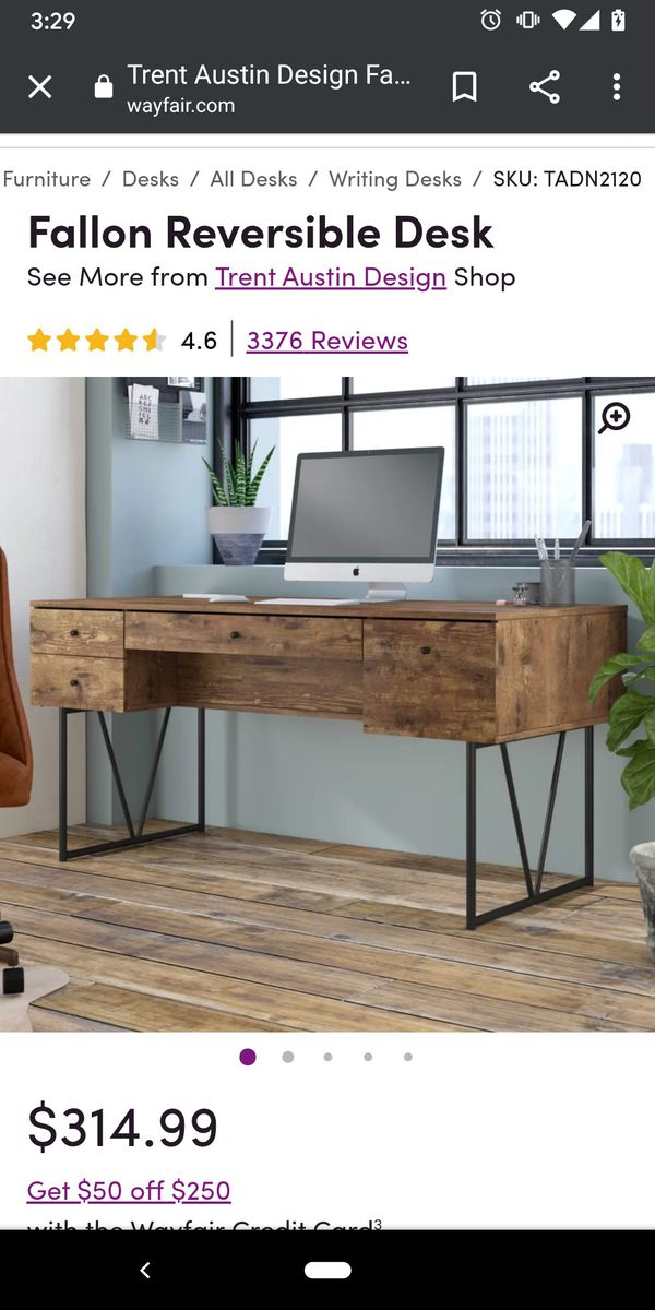 Fallon Reversible Desk Like new condition