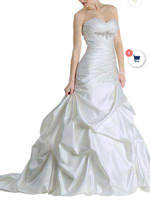 NEW WEDDING DRESS SIZE 10 for Sale in Las Vegas, NV