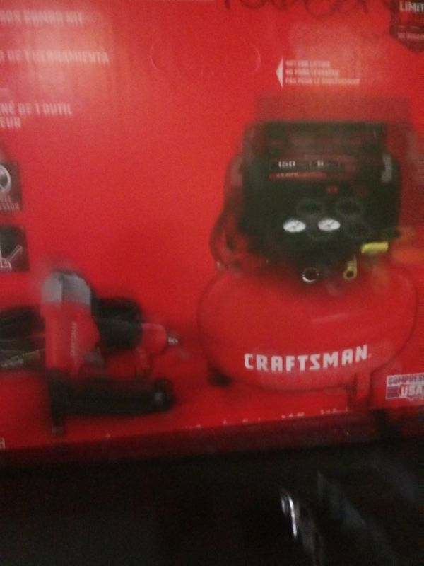 Air compressor.....Dewalt circle saw......battery charger for car