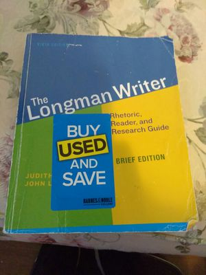 The Longman Writer brief edition for Sale in Pembroke Pines, FL