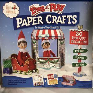 Elf on The Shelf Paper Crafts for Sale in Fresno, CA