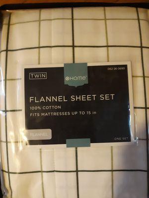 Twin Flannel Sheets for Sale in Tonawanda, NY