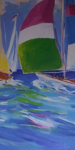 5 Pc Set Jane Slivka Painting for Sale in Clearwater,  FL