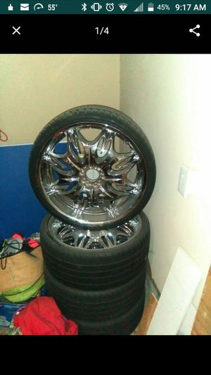"22""chrome rims for Sale in Manassas, VA"