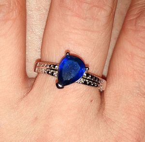 Sterling silver and blue sapphire ring for Sale in WILOUGHBY HLS, OH
