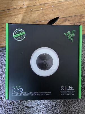 Razer Kiyo broadcasting camera ring light for Sale in Sacramento, CA
