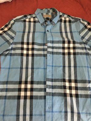 Burberry Collar Button Down (L) for Sale in Stone Mountain, GA