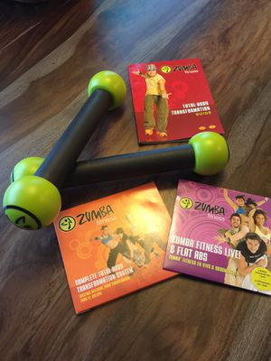 Zumba shake weights exercise equipment for Sale in Kent, WA