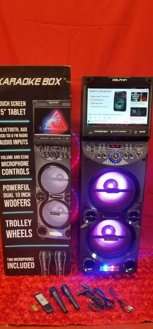 Wifi Bluetooth karaoke/bosina special $300 for Sale in Fontana, CA