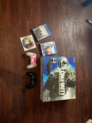 Ps4 slim 500gb, Call of duty: infinite warfare bundle (Used) for Sale in San Diego, CA