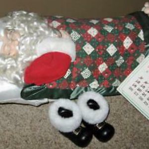 1992 Animated Telco Motionettes SLEEPING SANTA Snores Whistles Chest Moves for Sale in Carlsbad, CA