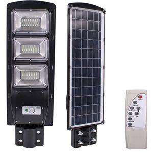 180 LED 90w solar dimmable wall street light PIR motion sensor outdoor garden lamp for Sale in Ontario, CA