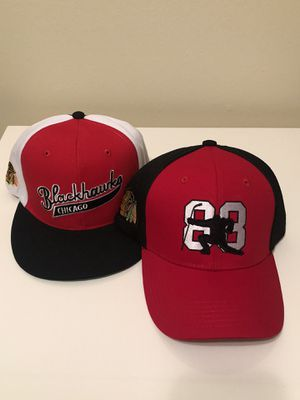 Chicago Blackhawks hats for Sale in Chicago, IL