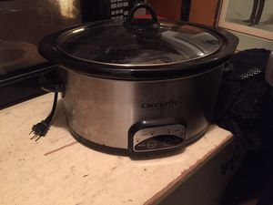 Crock pot slow cooker, large size for Sale in Portland, OR