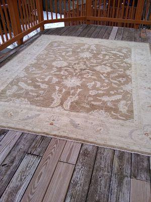 Large hand made rug 7x9 fret for Sale in Fort Belvoir, VA