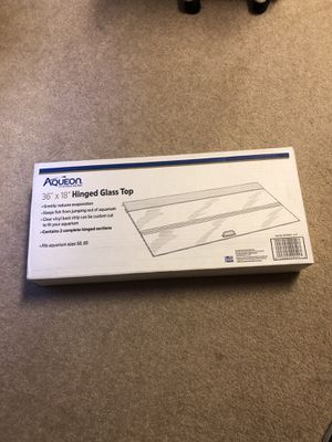 Aqueon Glass aquarium fish tank lid for Sale in Ashburn, VA