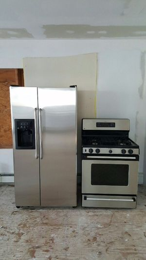 Stainless steel fridge and stove for Sale in Bronx, NY