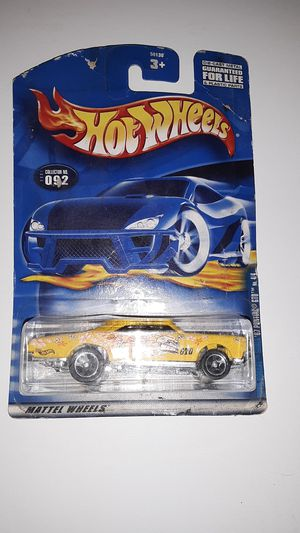 "2001 Hot Wheels #092 Yellow '67 Pontiac GTO Hippie ""Seires"" Misprinted Card RARE for Sale in San Diego, CA"