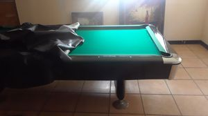 10 foot pool table and painting for Sale in Tampa, FL