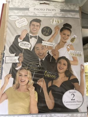 Photo booth props for Sale in Phoenix, AZ