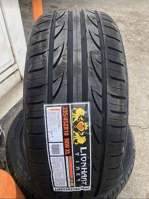 4 new Tires 235/45/18 Lionhart for Sale in San Dimas, CA