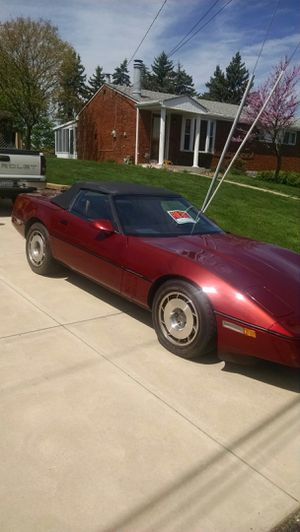 1987 Chevy Corvette Convertible for Sale in Pittsburgh, PA