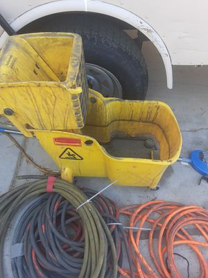 Mop and mop bucket for Sale in Las Vegas, NV