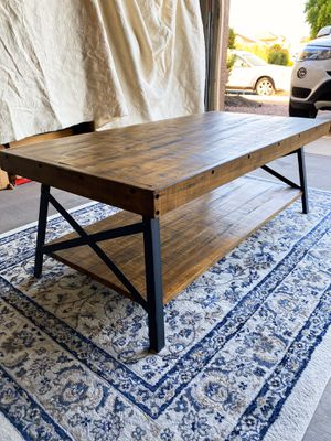 Contemporary Wooden Coffee Table for Sale in Mesa, AZ