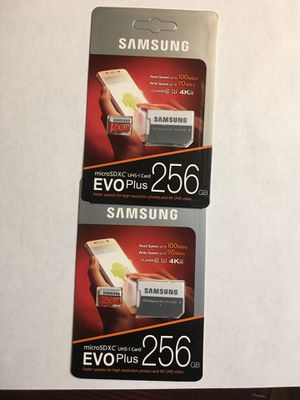 SAMSUNG EVO plus . 256 GB ! for Sale in Los Angeles, CA