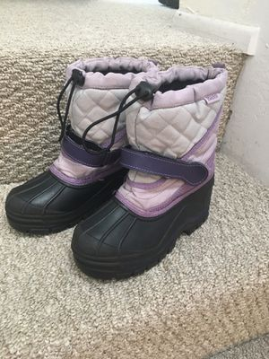 Snow boots, Bass, kids size 12 for Sale in San Diego, CA