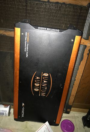 Quantum 4000 watt amp for Sale in Port Arthur, TX