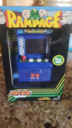 Arcade game portable for Sale in Desert Hot Springs, CA