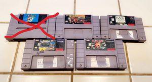 Super Nintendo games for Sale in Stockton, CA