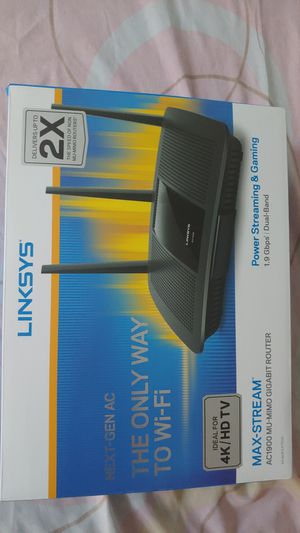 Brand New Linksys Max Stream Router . for Sale in New York, NY