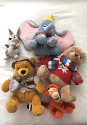 PICK UP TODAY FOR $10 Disney and TY Plush Characters for Sale in Miami, FL