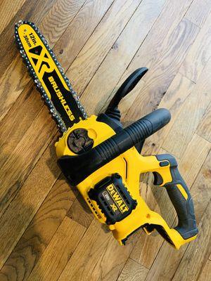 DeWalt 20v Chainsaw (TOOL ONLY) for Sale in Dallas, TX