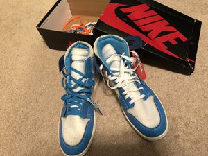 Air Jordan 1 Offwhite Retro High Og UNC Size12 for Sale in Gilbert, AZ