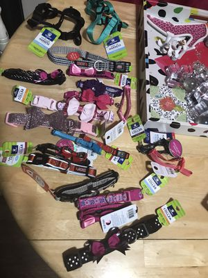 Dog collars new 1.75 each except Kong flash sale for Sale in Houston, TX