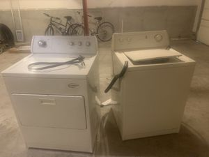 Whirlpool washer and dryer for Sale in El Sobrante, CA