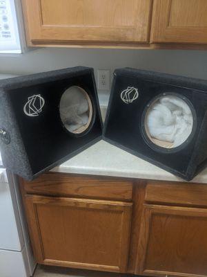 2 10 inch kicker subwoofer speaker boxes! $100 OBO for Sale in Portland, OR