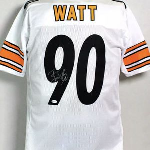 TJ Watt #90 Pittsburgh Steelers Autographed Jersey Comes With A Beckett COA for Sale in Cranberry Township, PA