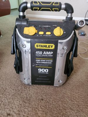 Stanley jump start system with compressor for Sale in Houston, TX