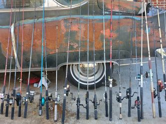 22 Fishing Rods And Reels for Sale in Suffolk,  VA