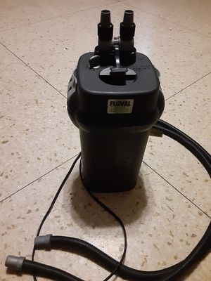 Fluval 205 aquarium filter up to 40 gallon for Sale in Houston, TX