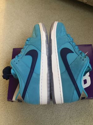 Nike SB Dunk Low Pro Blue Fury (SIZE 9 BRAND NEW) for Sale in Shelby Charter Township, MI