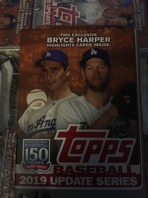 topps baseball 2019 update series New unopened for Sale in Washington, DC