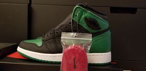 Jordan 1 black/pine green size 4.5 for Sale in Aspen Hill, MD
