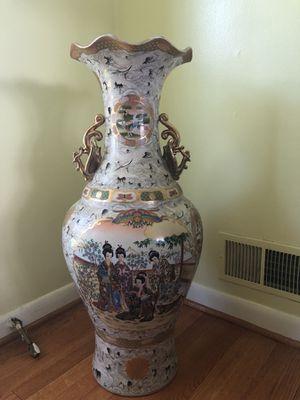 oriental japanese vase for Sale in Silver Spring, MD