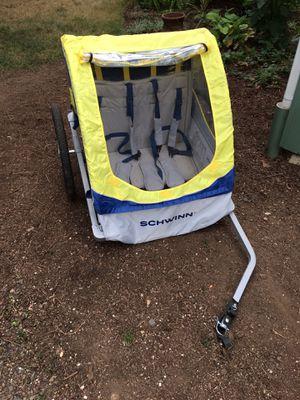 Schwinn 2 seat bike trailer for Sale in Portland, OR
